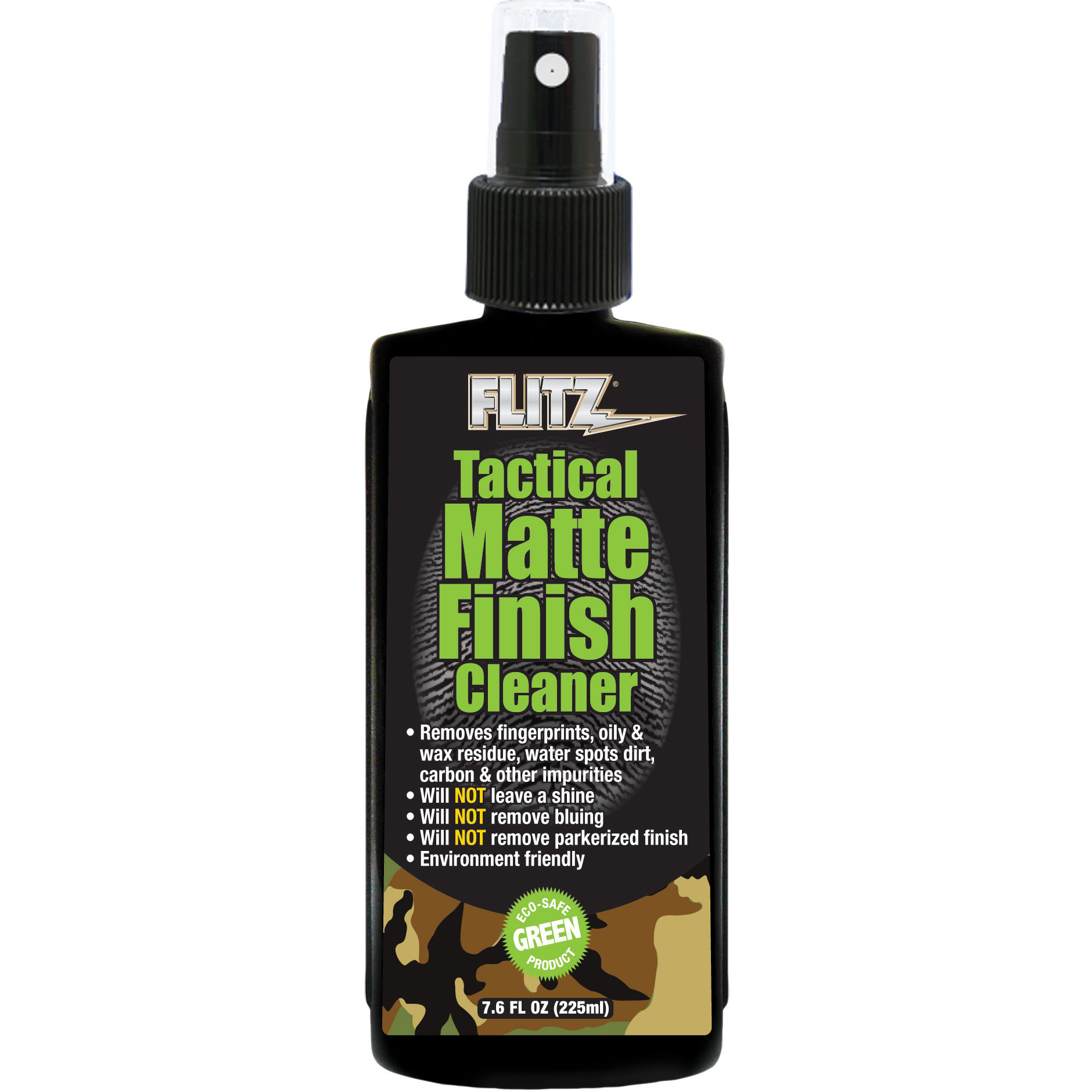 Flitz TM 81585 Tactical Matte Finish Cleaner 7.6 fl oz. (225ml)