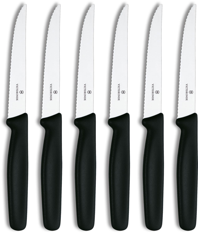 Victorinox Swiss Classic 6 Piece Steak Knife Set Serrated