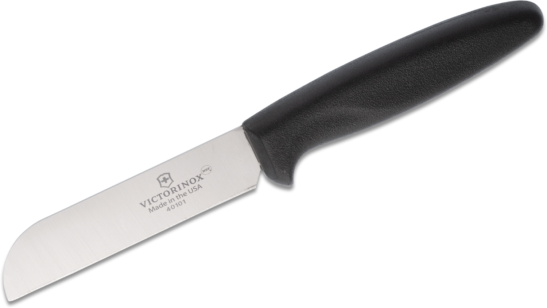 Victorinox Forschner 4.13 inch Produce Knife, Black Polypropylene Handle