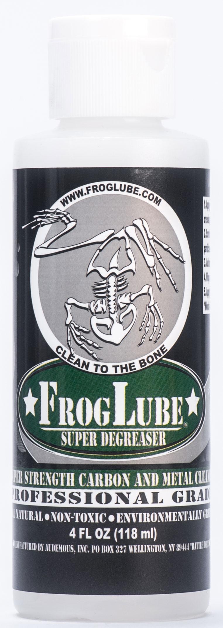 FrogLube Super Degreaser 4 fl. oz. Bottle
