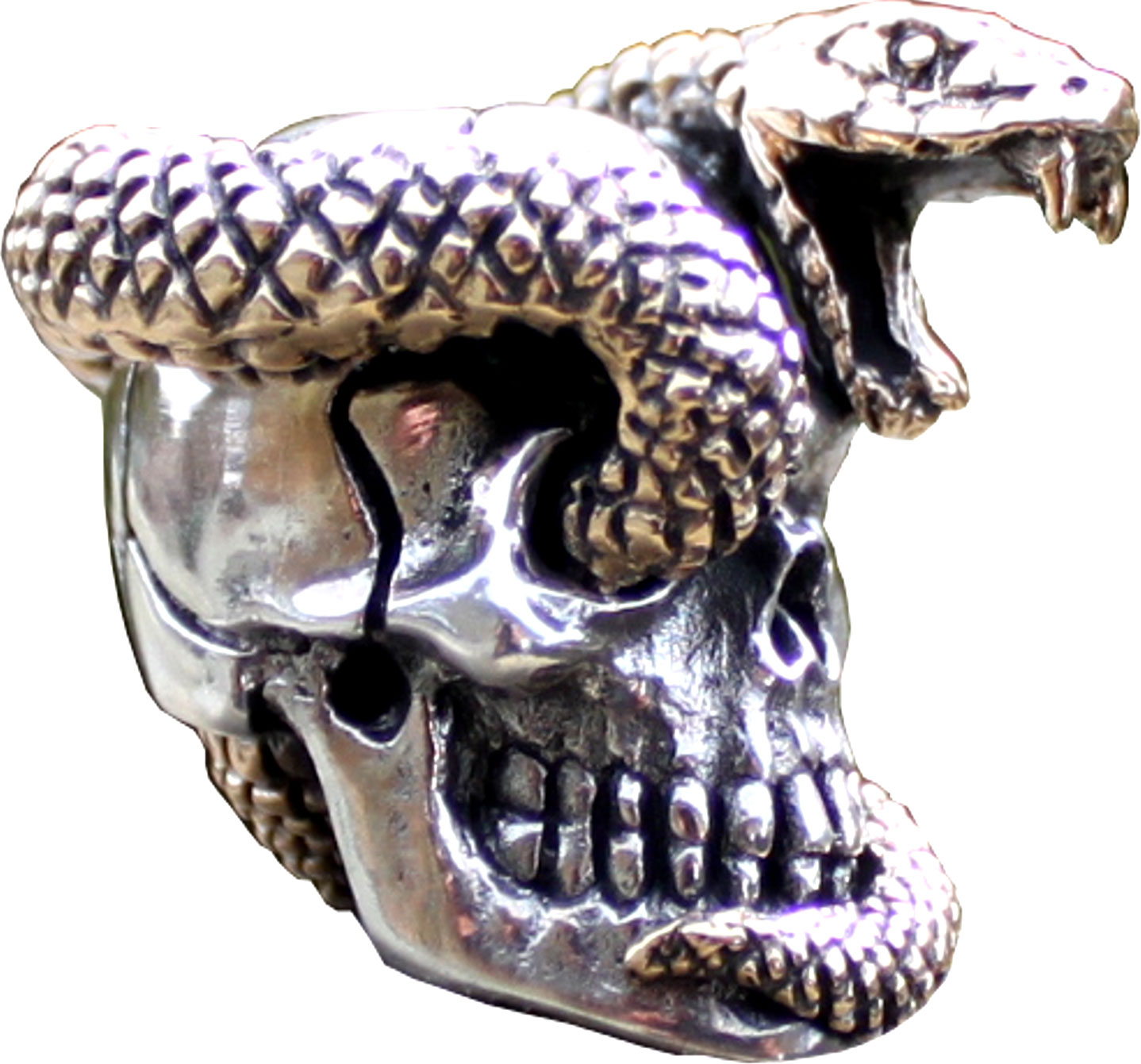 GD Skulls USA SS12 Snake Skull