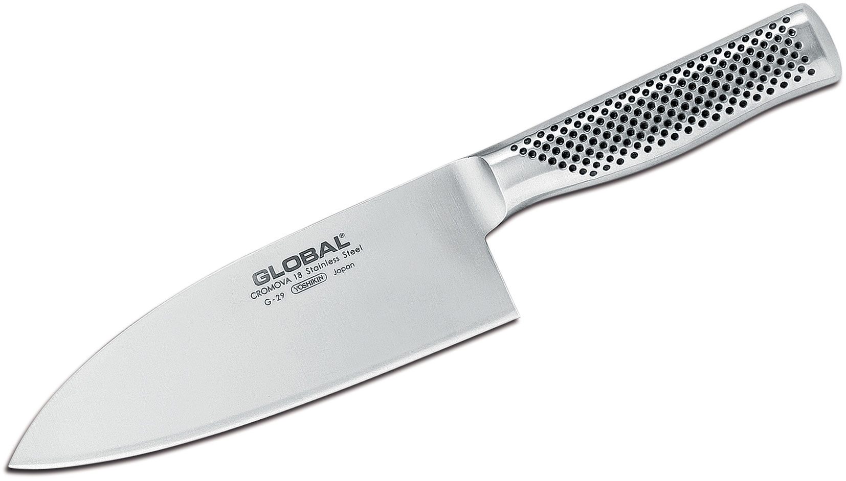 Global G-29 Classic 7 inch Wide Chef's Knife