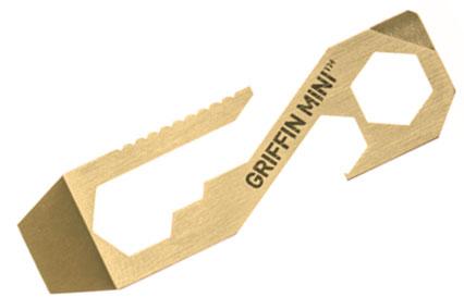 Griffin Mini Pocket Tool Original, Brass