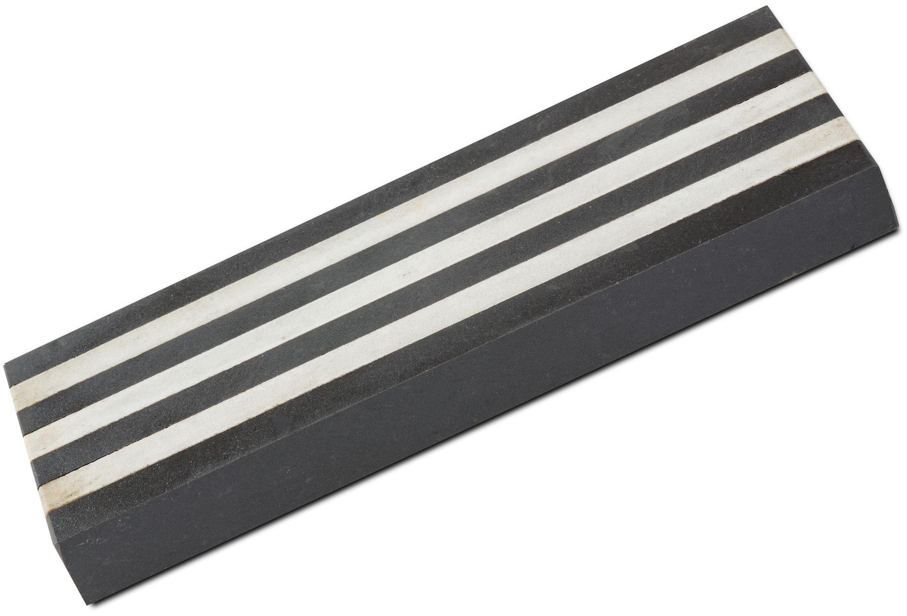 Hall Sharpening Stones 30326 Soft/Dunston Black Arkansas 8 inch Vulcan Stone in Wooden Box