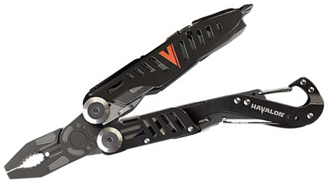 Havalon Evolve Replaceable Blade Multi-Tool, Nylon Pouch
