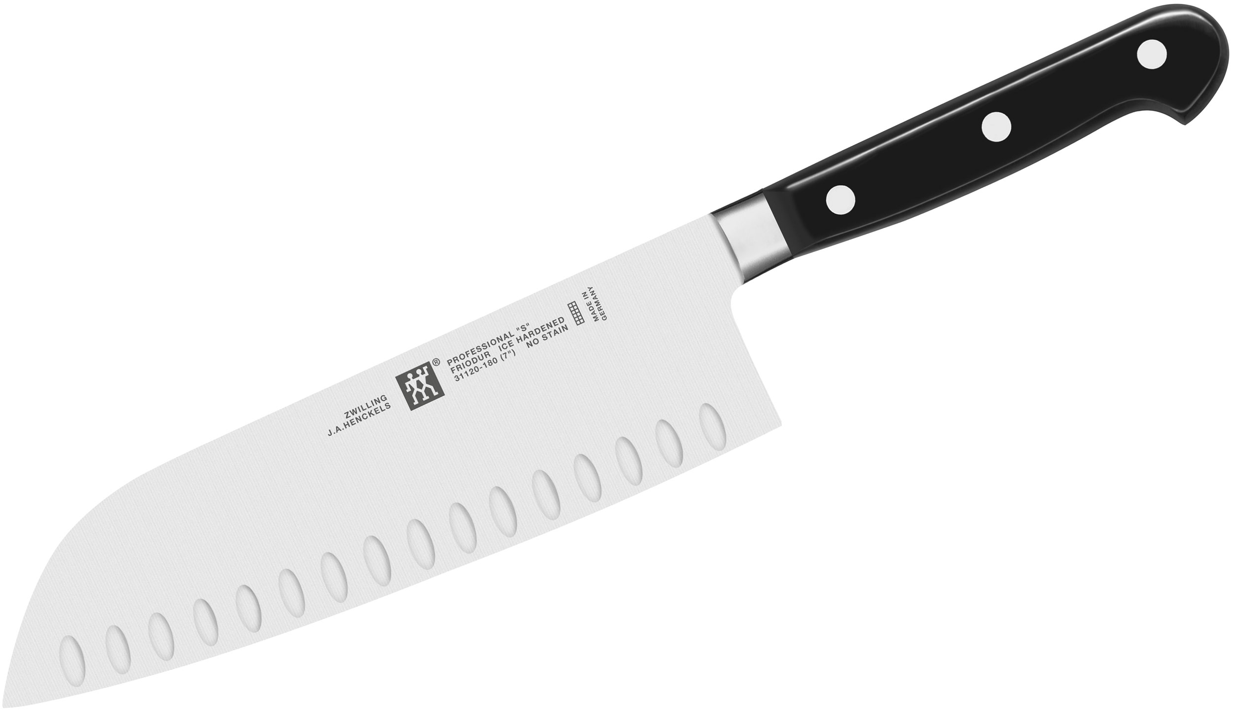 Zwilling J.A. Henckels TWIN Pro 'S' 7 inch Santoku Knife, Hollow Edge