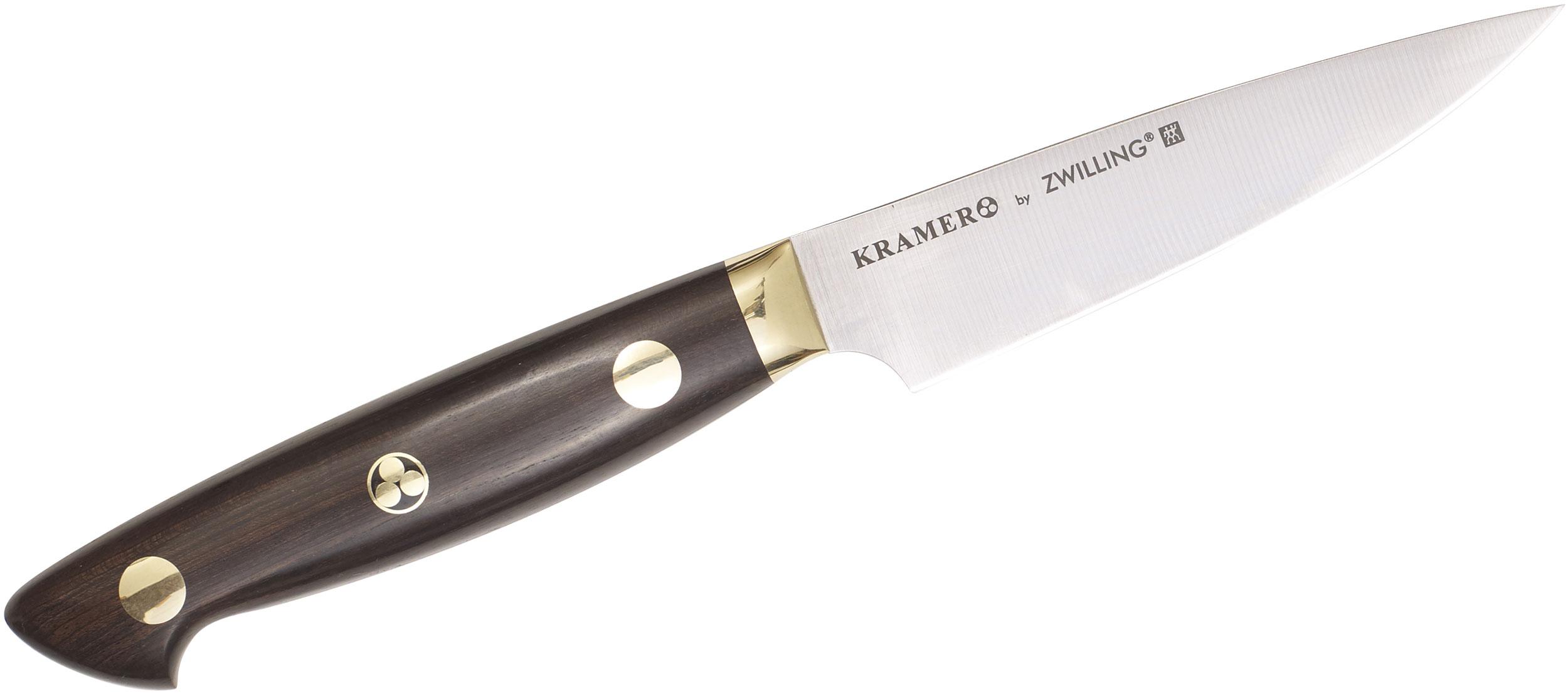 Zwilling J.A. Henckels EUROLine Bob Kramer 3.5 inch Paring Knife, Grenadille Wood Handle