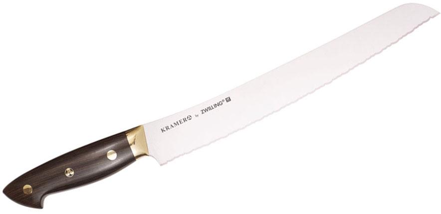 Zwilling J.A. Henckels EUROLine Bob Kramer 9 inch Bread Knife, Grenadille Wood Handle