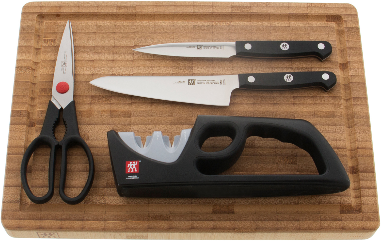 Zwilling J.A. Henckels Gourmet 5 Piece Prep Set, Black POM Handles