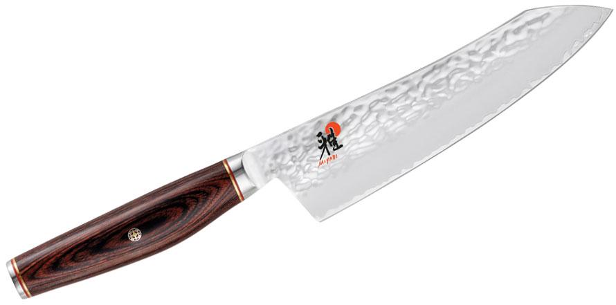 Zwilling J.A. Henckels Miyabi Kaizen Artisan 7 inch Rocking Santoku Knife, Pakkawood Handle