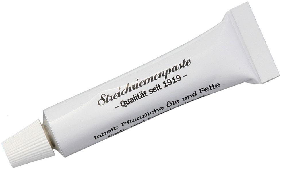 Herold Solingen German Tubenpaste Canvas Side Strop Paste, White
