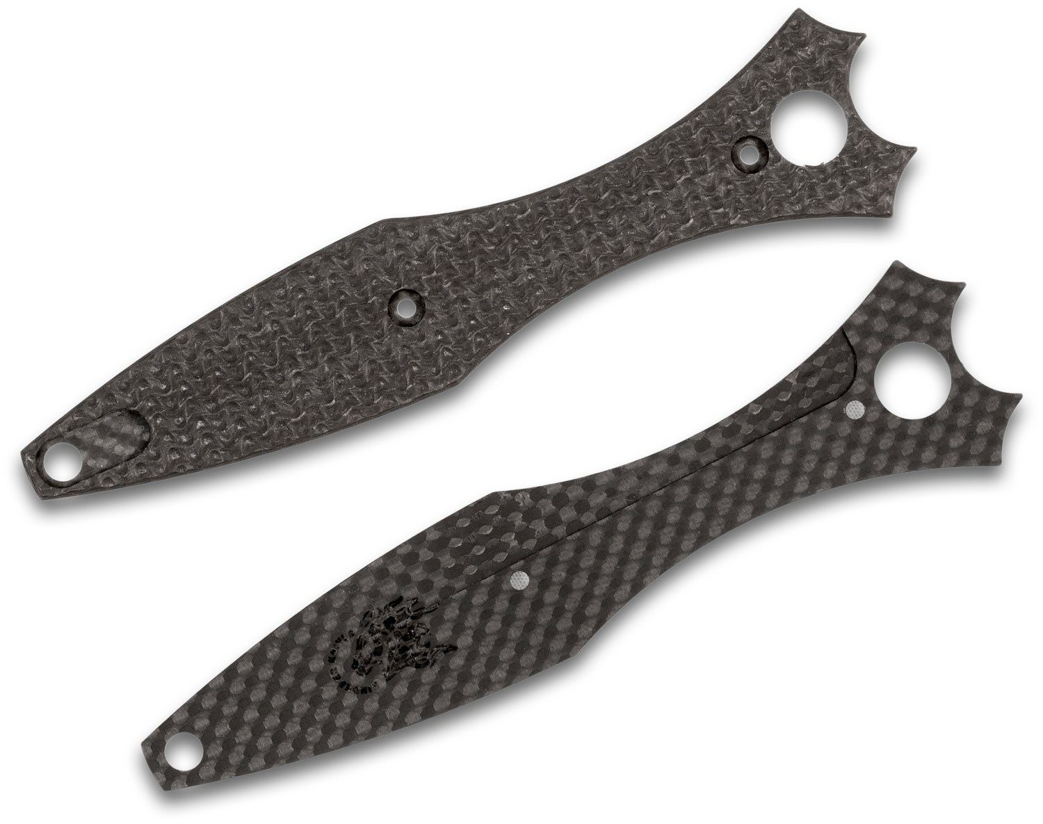 Rick Hinderer Knives Textured Carbon Fiber Scales for Maximus Model