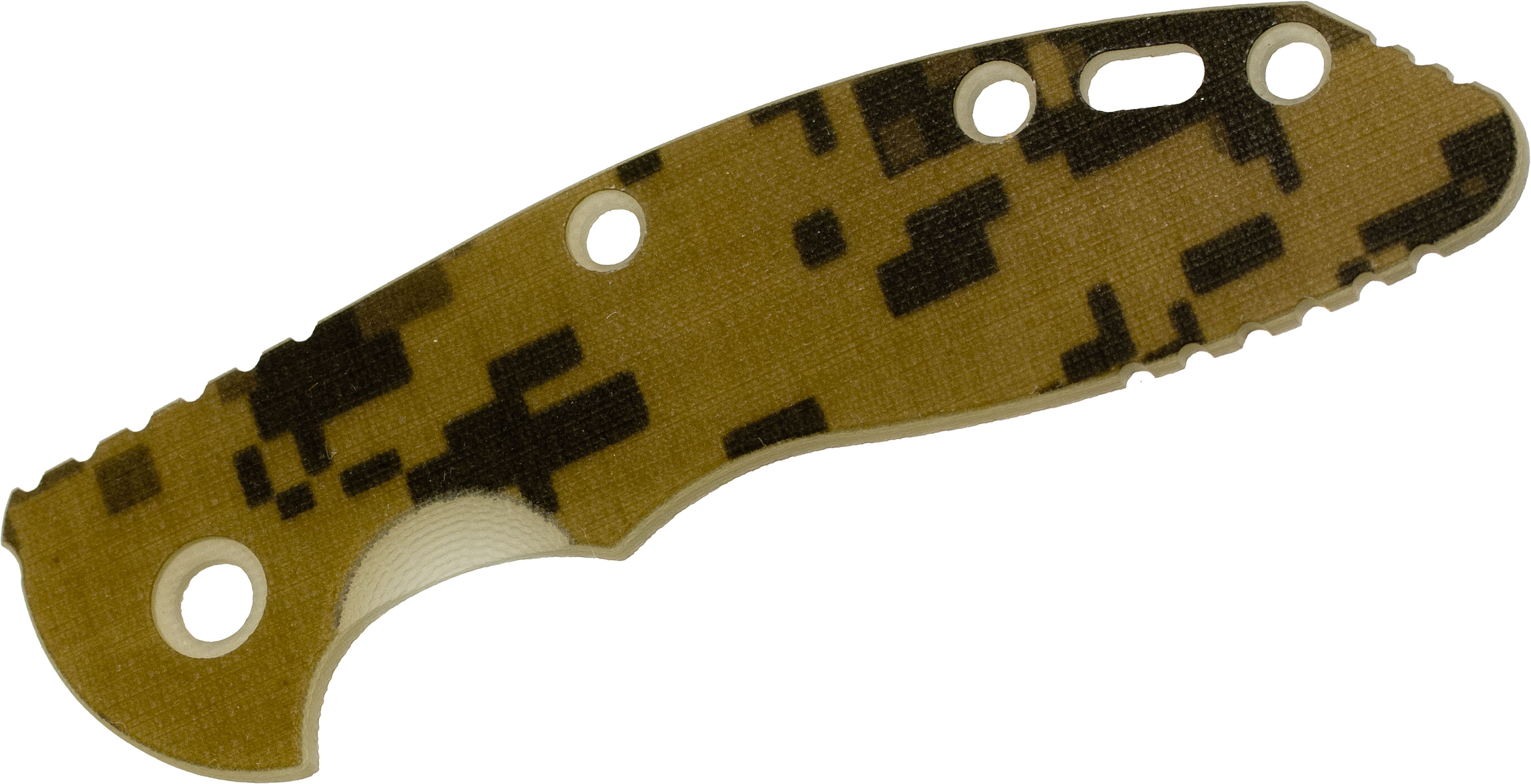 Rick Hinderer Knives ACU Camo G10 Scale for XM-18 3.5 inch Model