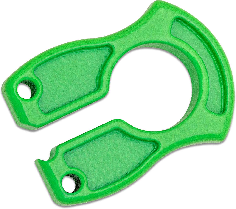 John Gray Lite Weight Aluminum Keyper - Neon Green