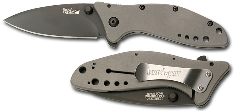 Kershaw Mini Cyclone with 3.25 Assisted Opening ZDP189 Steel Blade