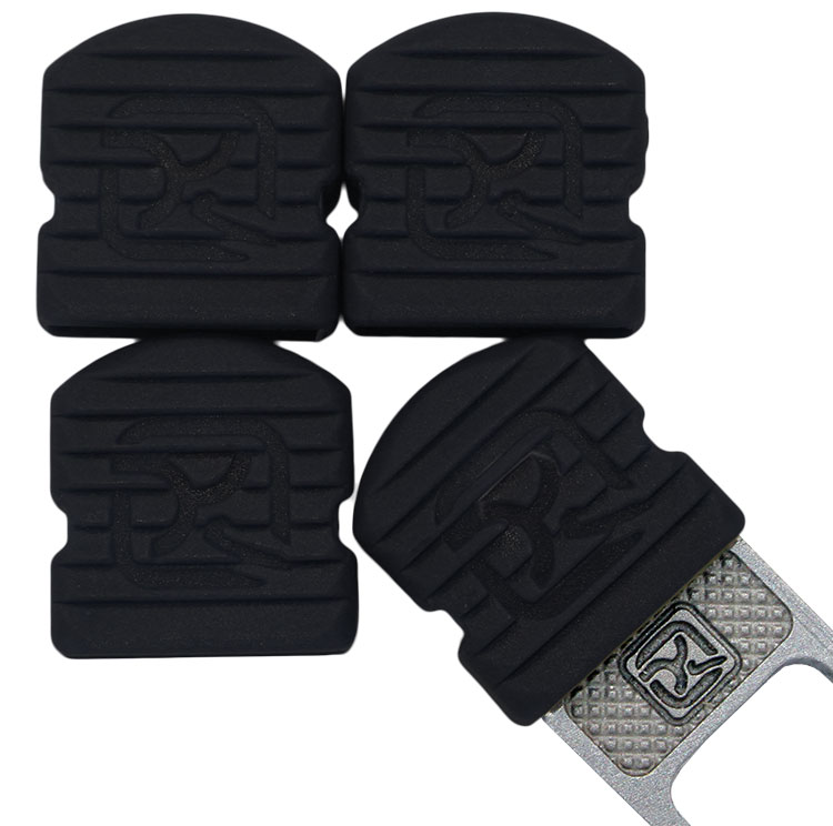 Klecker Stowaway Tool Caps, Black, Pack of 6