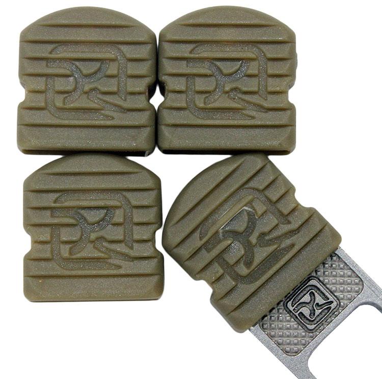 Klecker Stowaway Tool Caps, Pudding Brown, Pack of 6