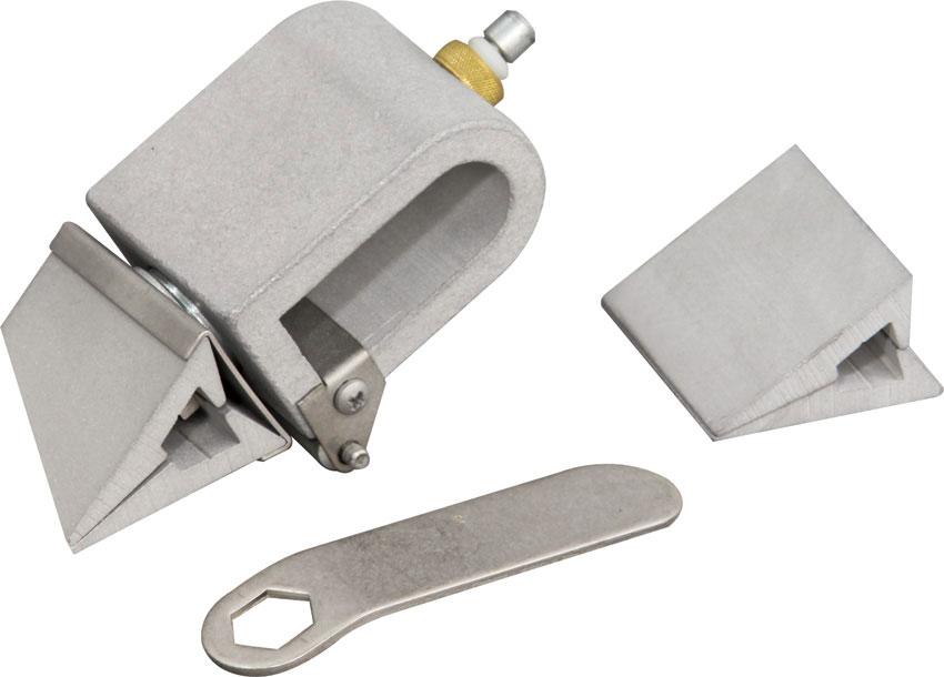 KME Sharpeners Self-Aligning Adjustable Angle Broadhead and Replacement Blade Sharpener