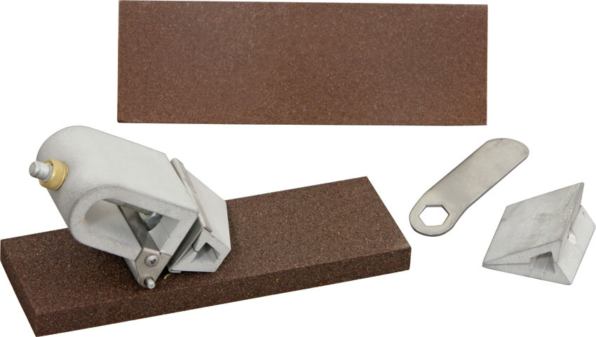 KME Sharpeners Self-Aligning Standard Broadhead Sharpening Kit