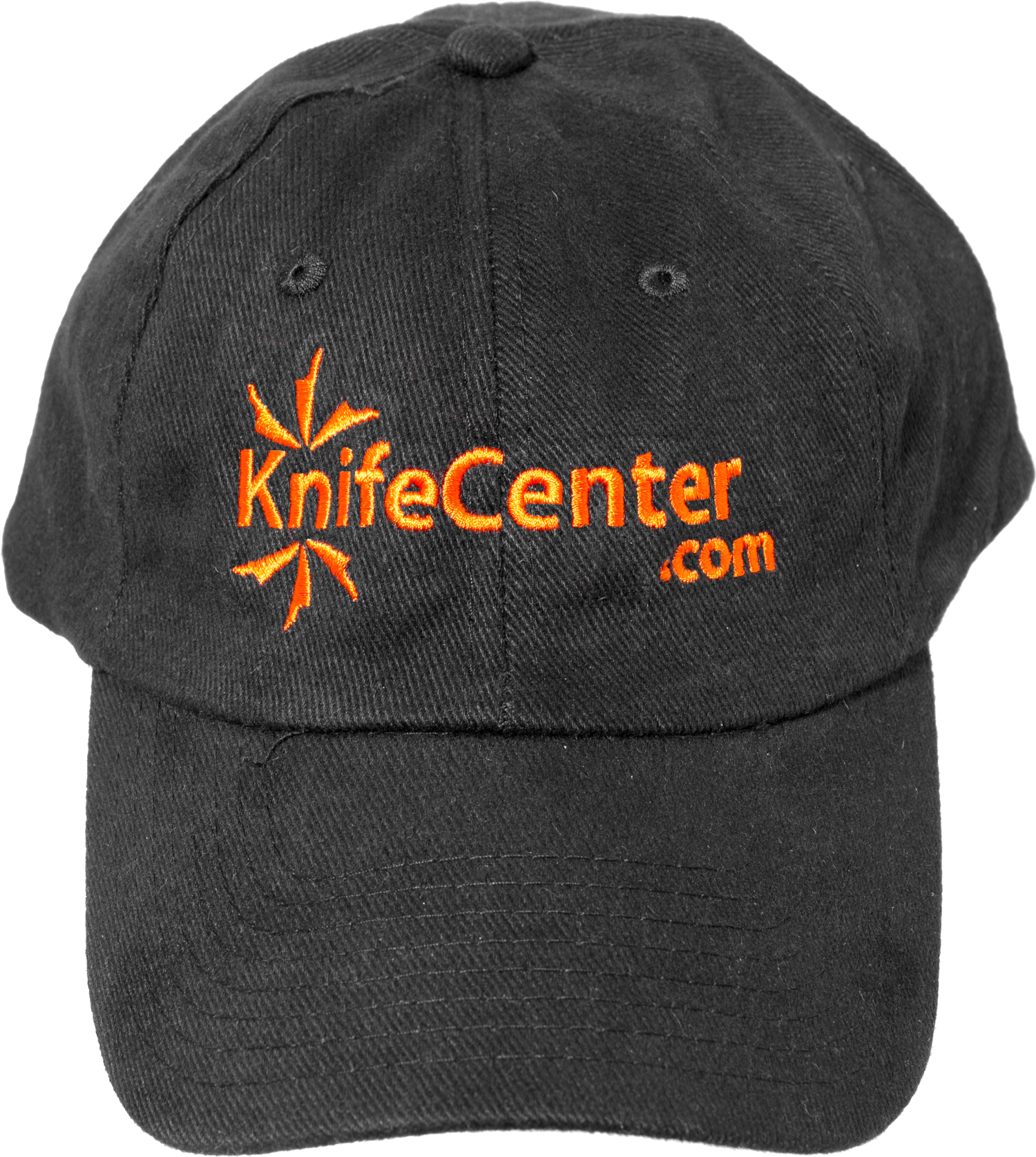 KnifeCenter.com Heavy Brushed Cotton Cap/Hat, Black