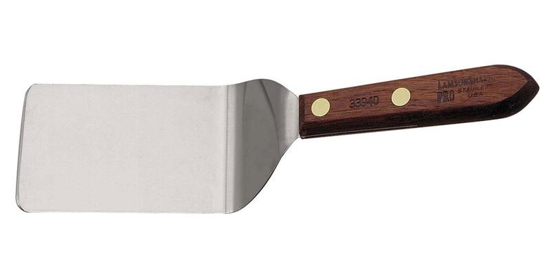 LamsonSharp USA Pro Stamped Granny Tools Walnut Easy Entry Turner