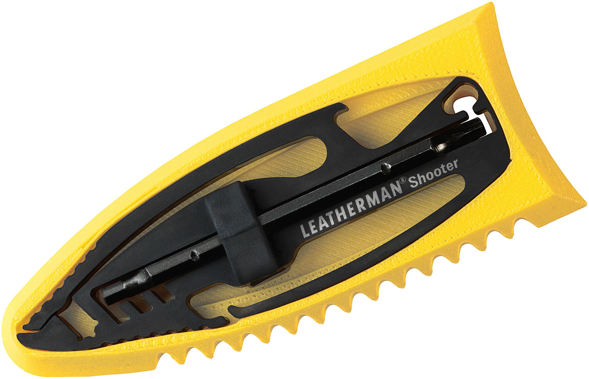 Leatherman Shooter Keychain Size Mini Multi-Tool, Surf PocketTool