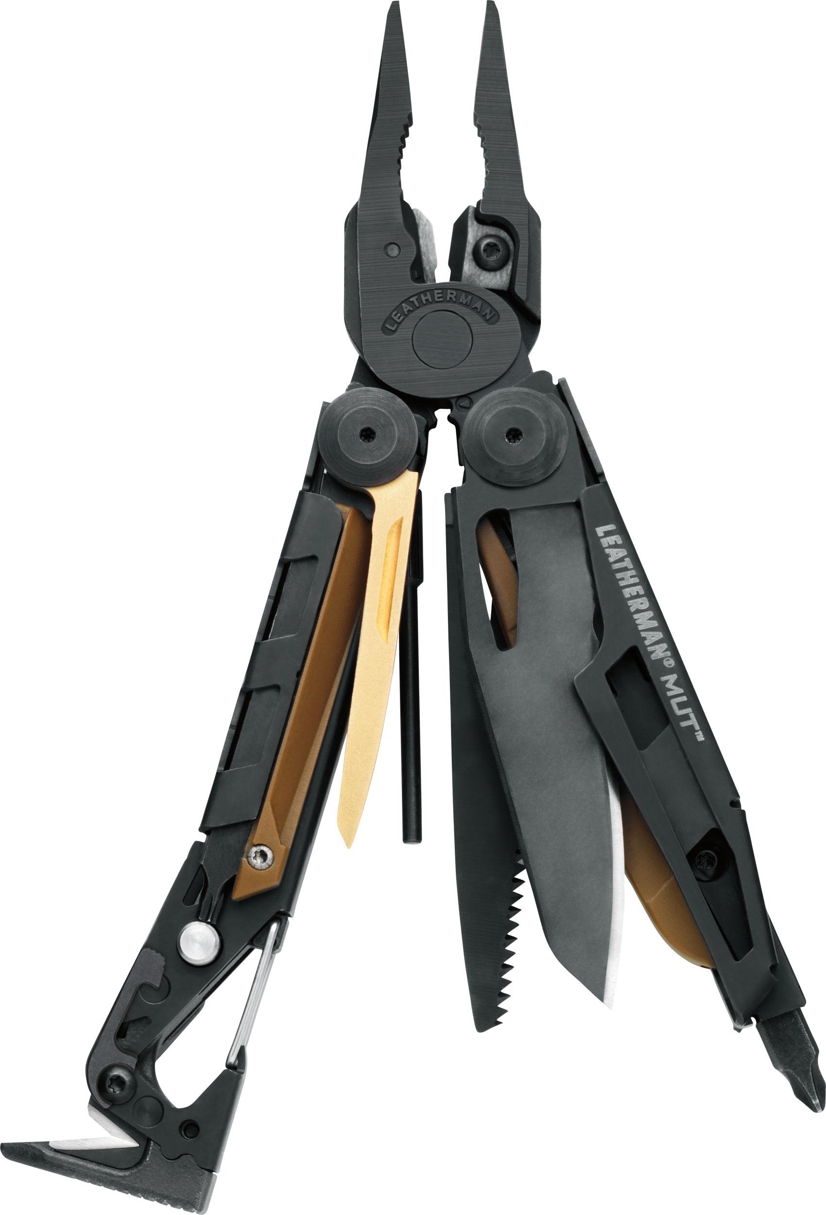 Leatherman MUT Heavy-Duty Multi-Tool, Black Oxide, Brown MOLLE Sheath