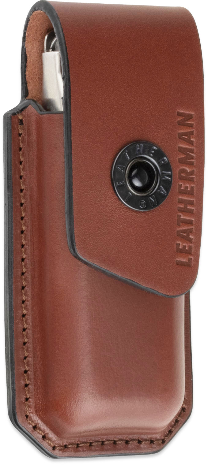 Leatherman Ainsworth Premium Brown Leather Sheath, Medium