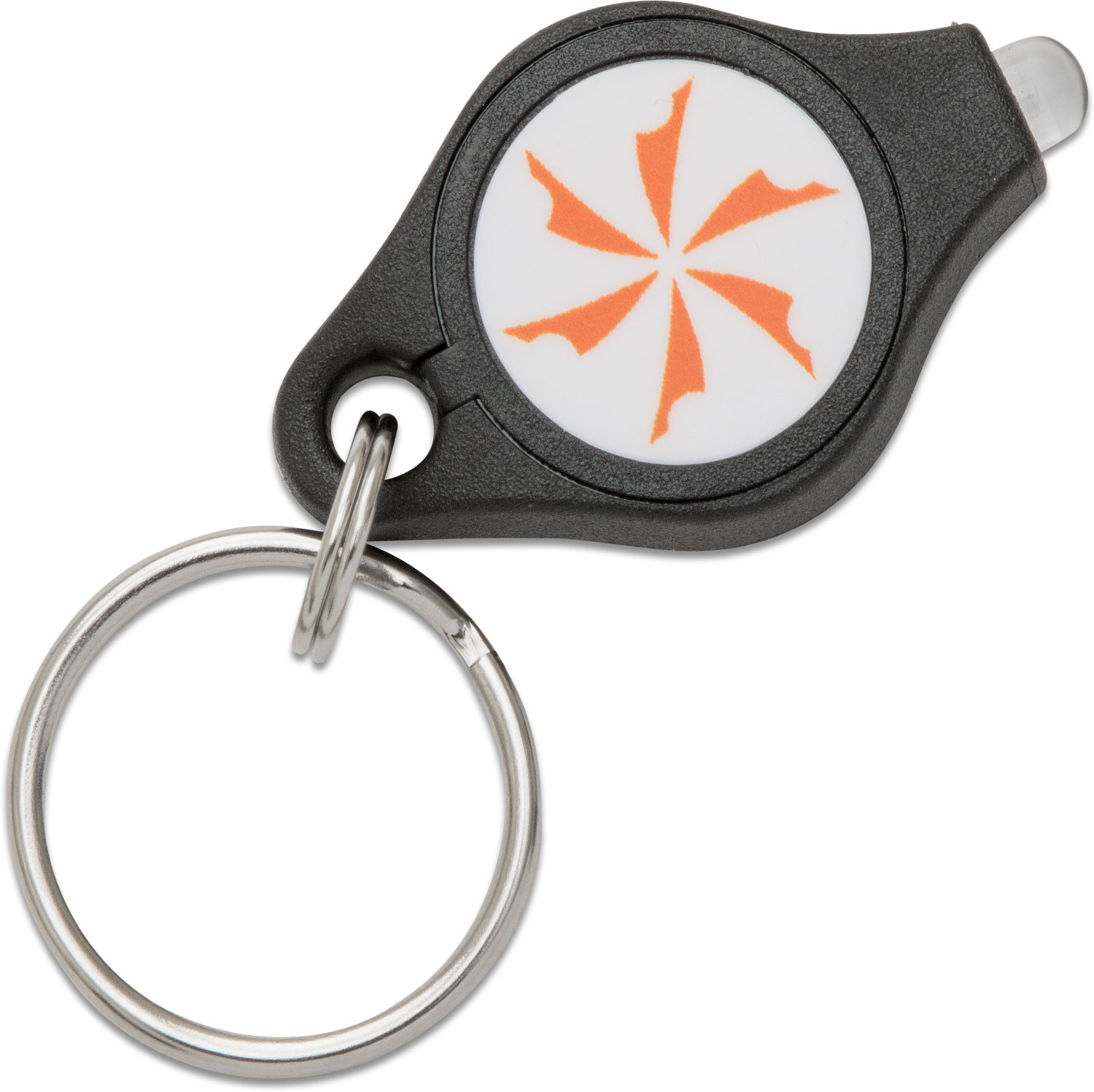 Photon Micro-Light I Keychain Flashlight, Orange LED, KnifeCenter Logo