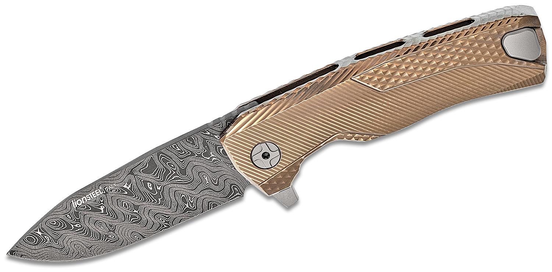 Lionsteel Rok Dd Gl Integral Flipper Knife 3 39 Quot Nichols