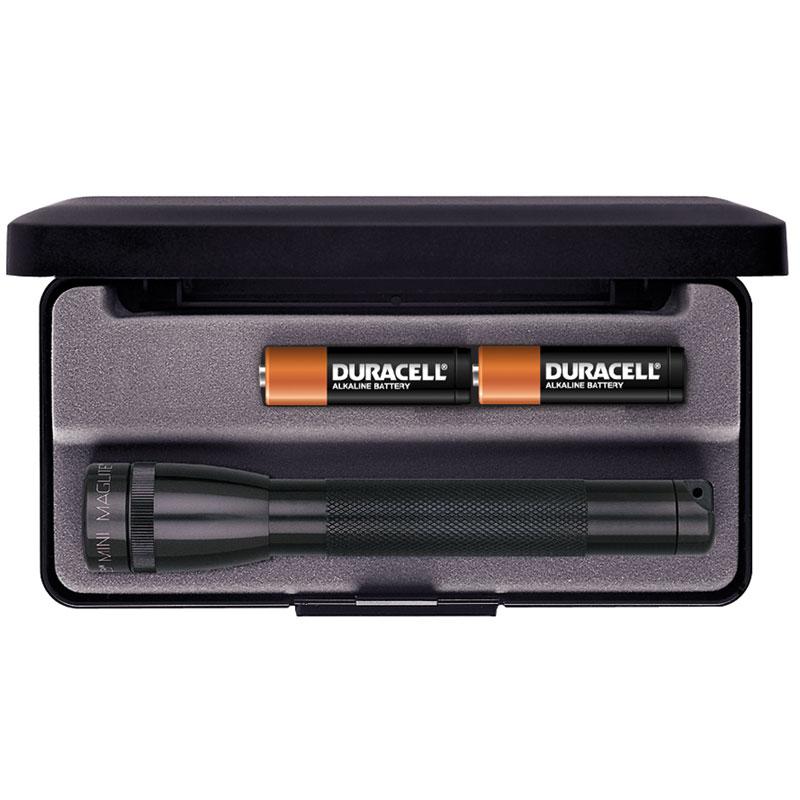 Maglite Minimag AA Flashlight in Gift Box - Black Body