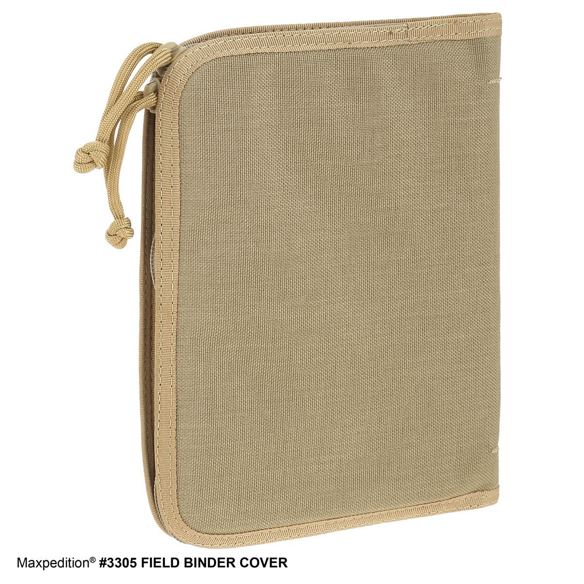 Maxpedition 3305K Field Binder Cover, Khaki