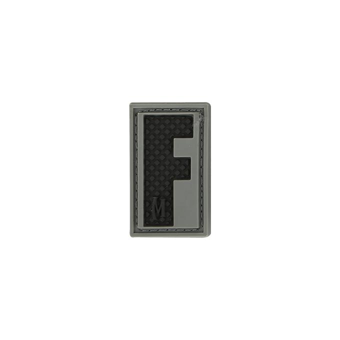 Maxpedition LETFS PVC Letter F Patch, SWAT