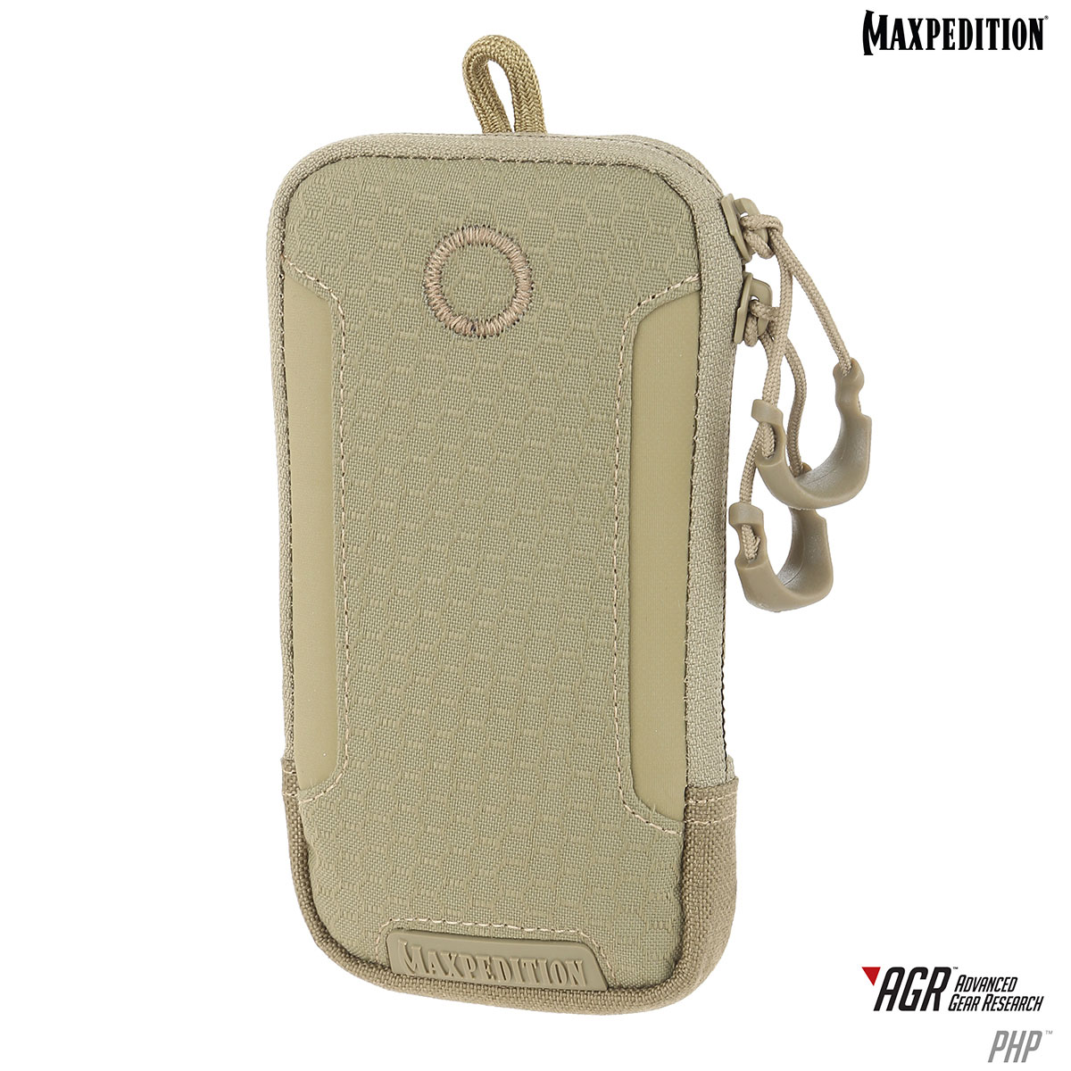 best website 94b77 44b72 Maxpedition PHPTAN AGR Advanced Gear Research PHP iPhone 6/6s Pouch, Tan