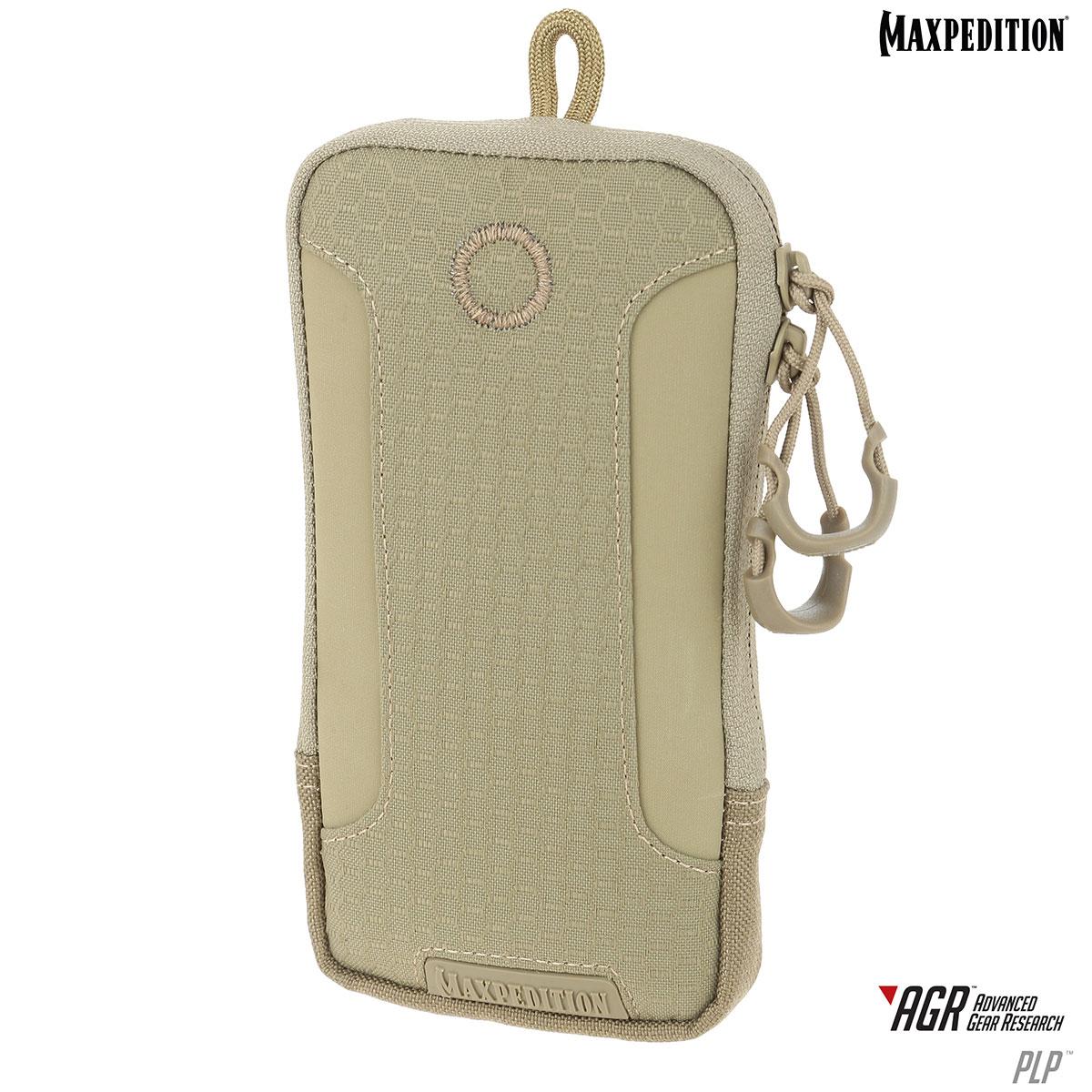 Maxpedition PLPTAN AGR Advanced Gear Research PLP iPhone 6s Plus Pouch, Tan