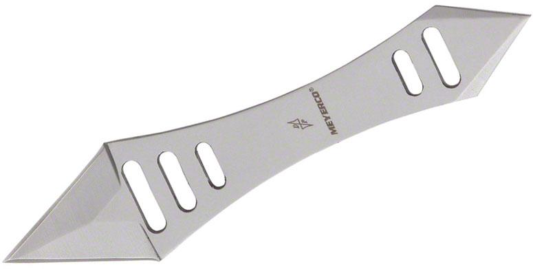 Meyerco Dirk Pinkerton Paramecium Neck Knife 1-1/4 inch Double Edge Blade, Steel Handle, Kydex Sheath
