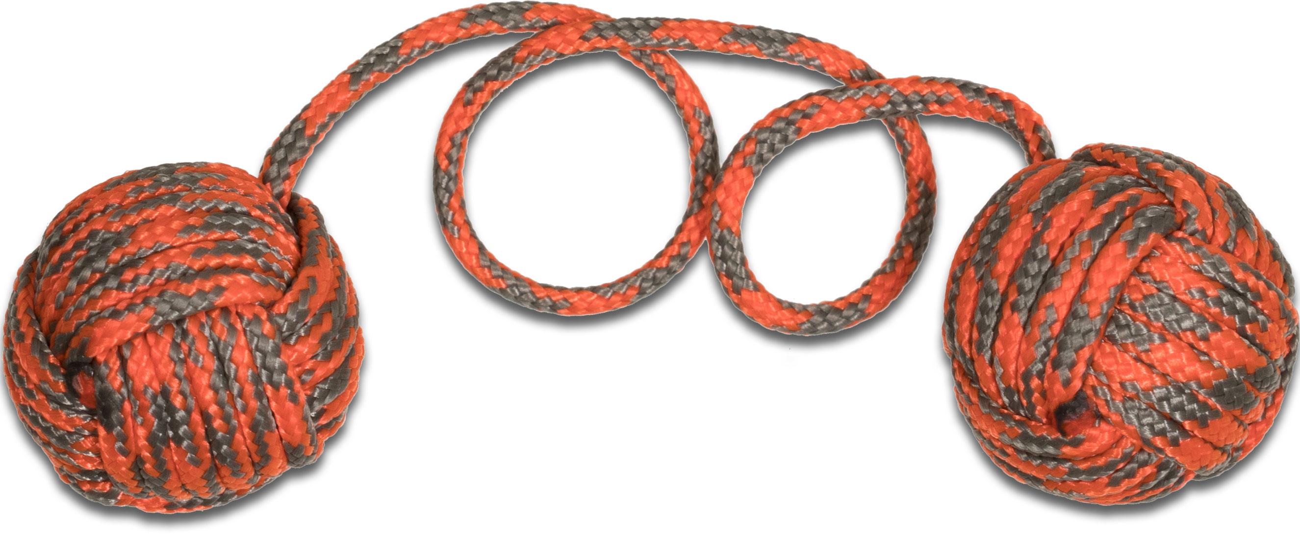 Monkey Fist Begleri KnifeCenter Exclusive 6 inch Orange/Gray Paracord