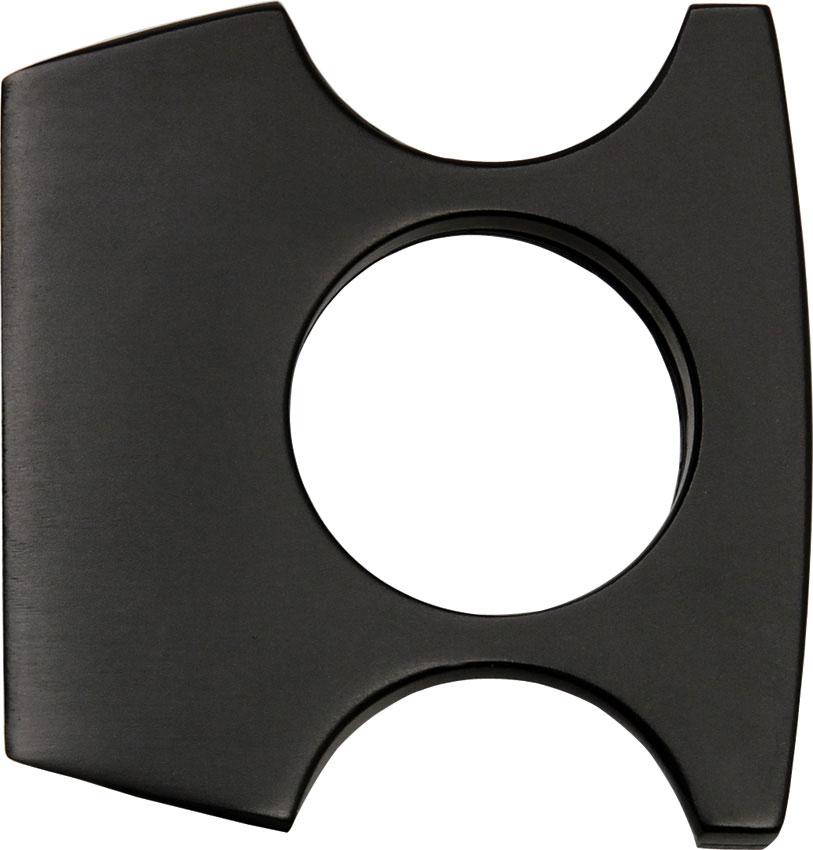 Black Self Defense Money Clip, 2 inch x 2 inch