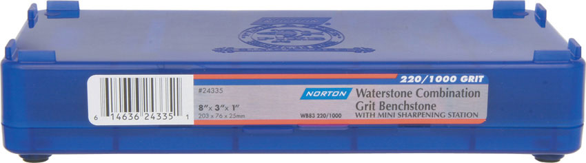 Norton Japanese Style Combination Waterstone 220 1000 Grit