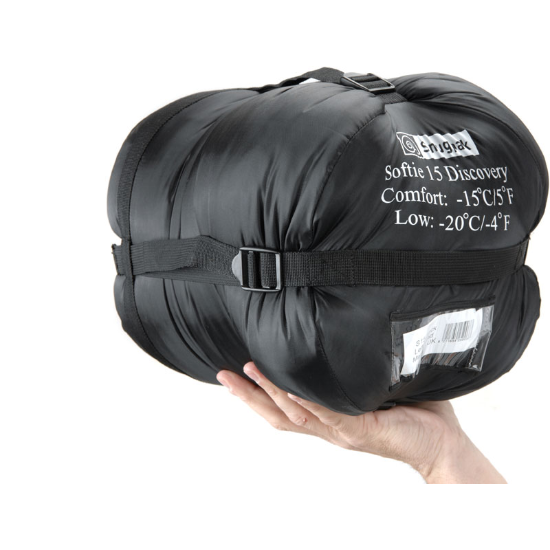 Snugpak Softie 15 Discovery Black Right Hand Zip