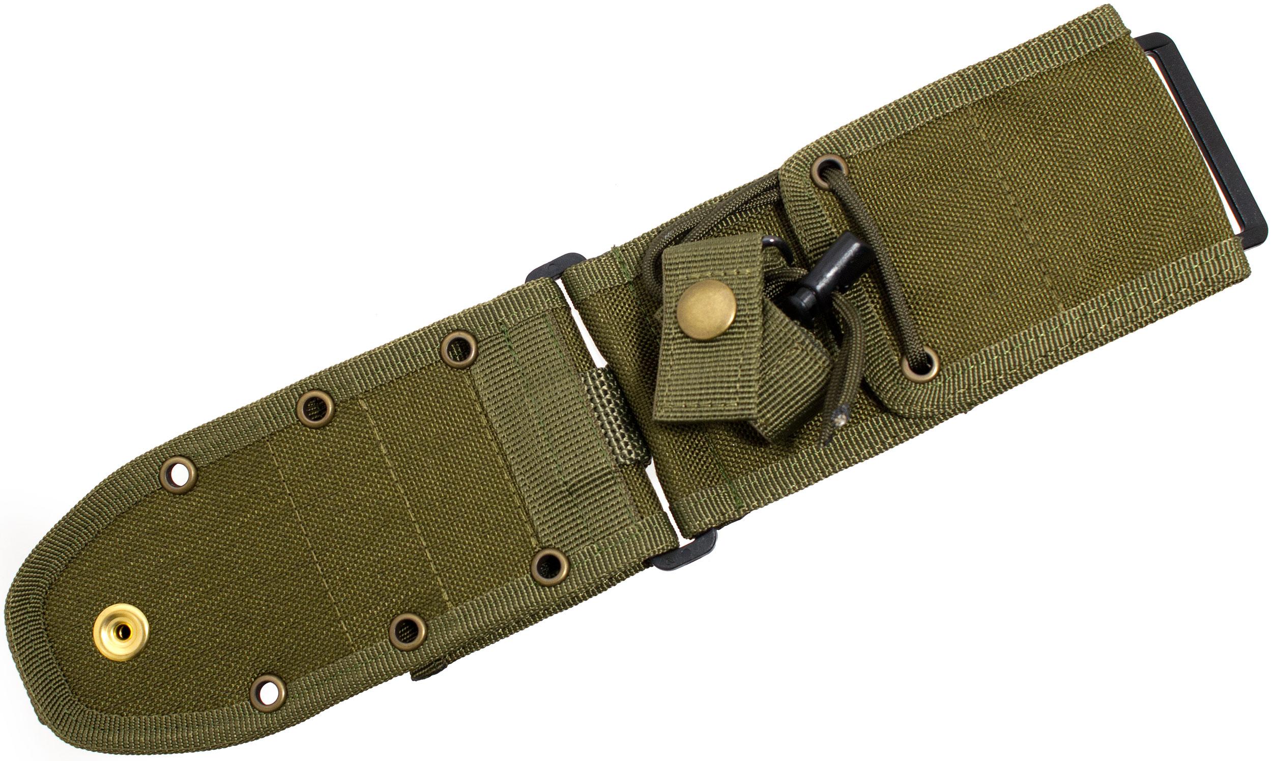 ESEE Knives ESEE-52-MB-OD MOLLE Back Sheath for ESEE-5, ESEE-6, Laser Strike, Olive Drab