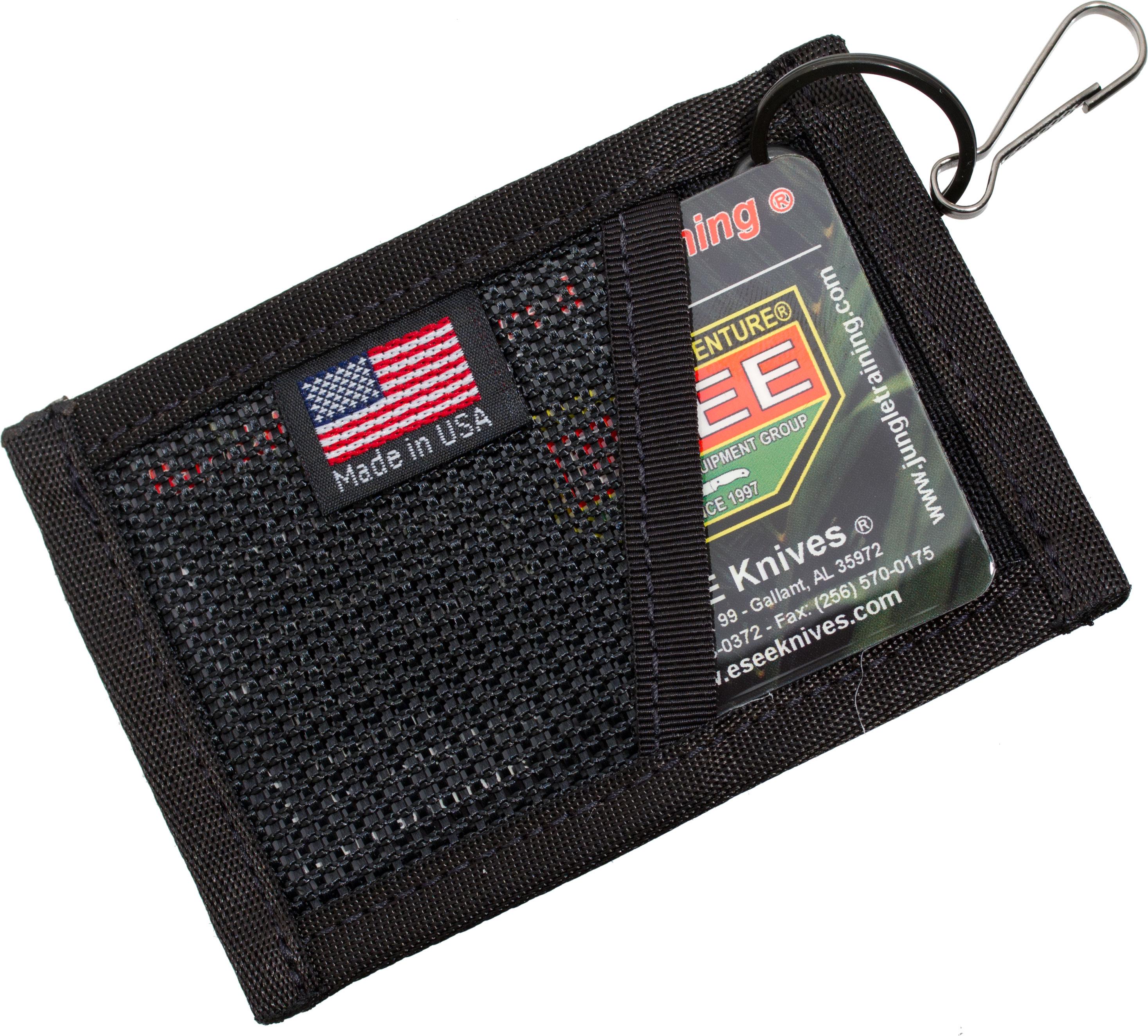 ESEE Cordura Card Holder, Black