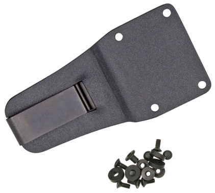 ESEE Knives ESEE-5/6 Molded Sheath Clip Plate, Black