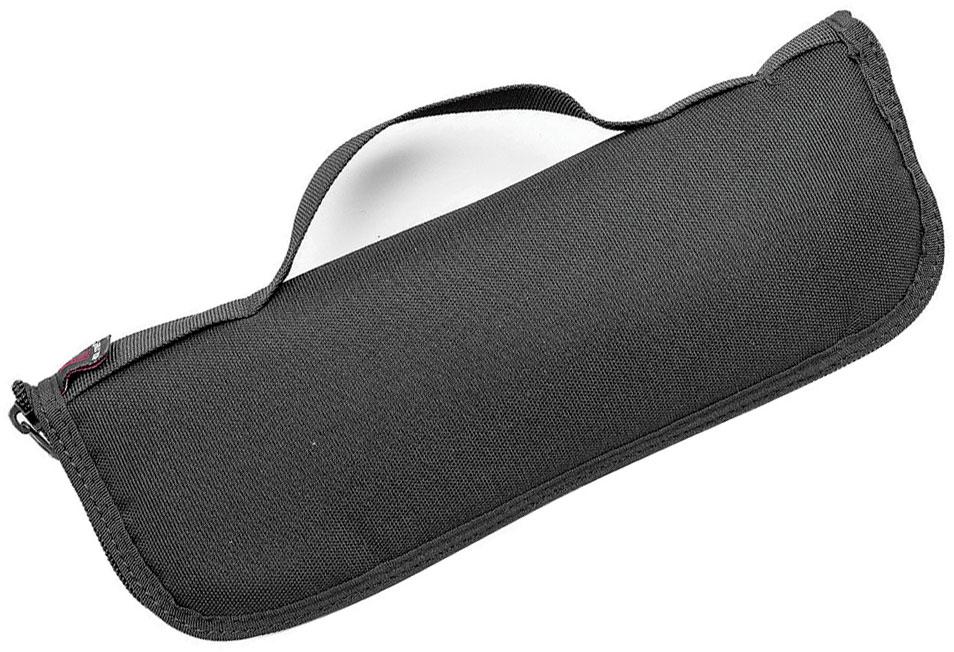 Real Steel Knives Urban Discreet XL EDC Bag Nylon Pouch, Black