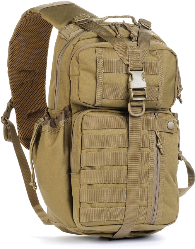 9f292c304fe9 Red Rock Outdoor Gear 80201COY Rambler Sling Pack, Coyote Brown