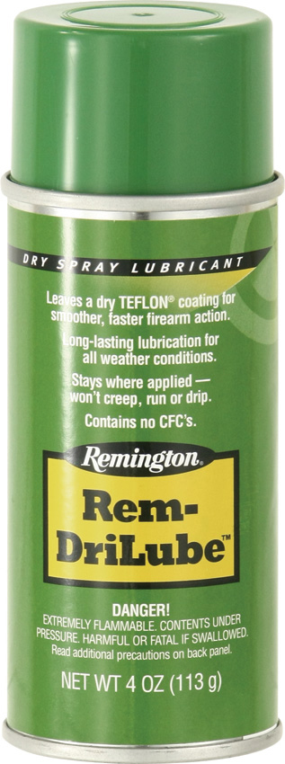 Remington Rem DriLube with Teflon Gun Lubricant 4 oz