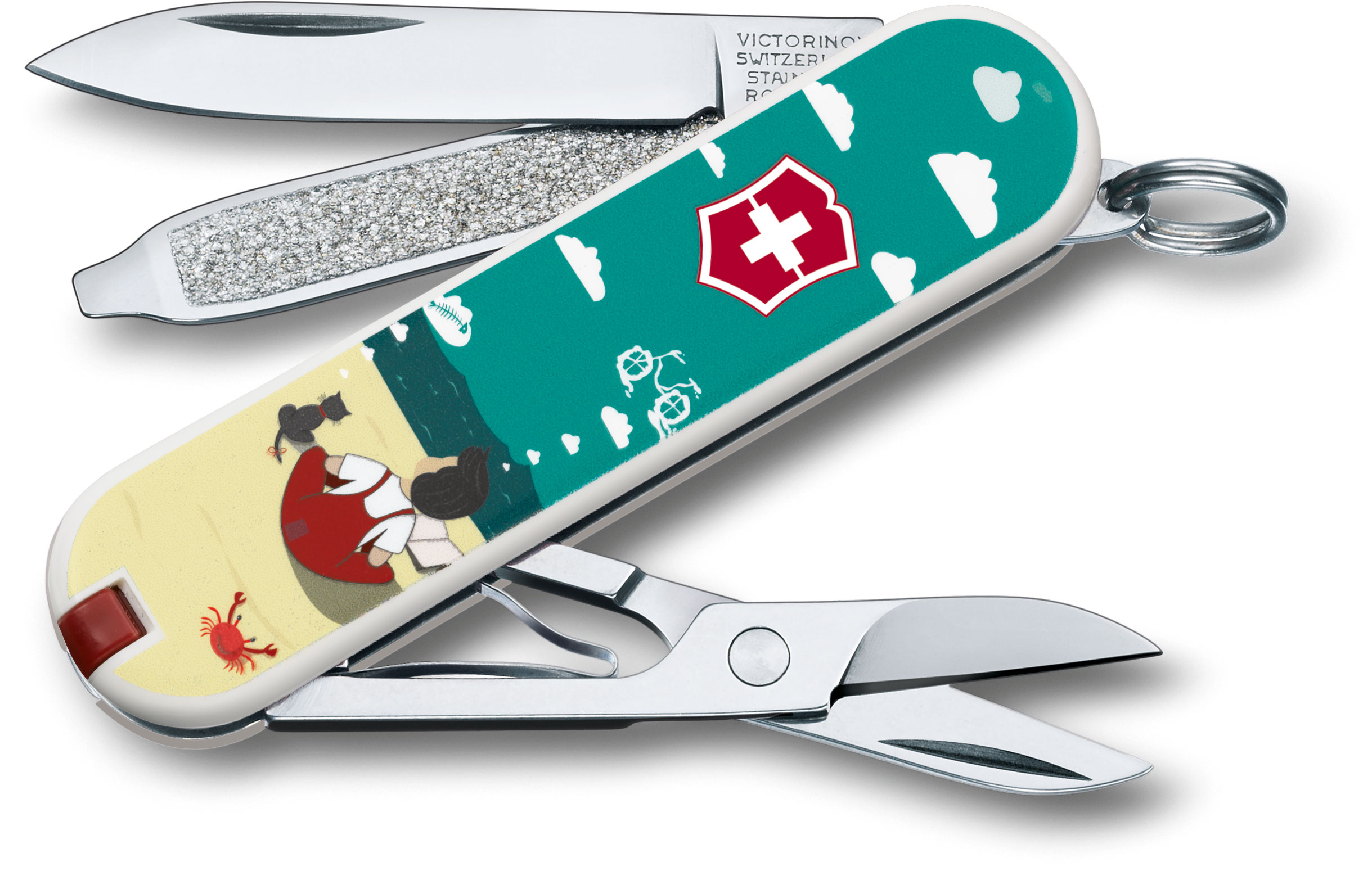 Victorinox Swiss Army Contest Classic SD Limited Edition 2016 Multi-Tool, Dream Big, 2.25 inch Closed