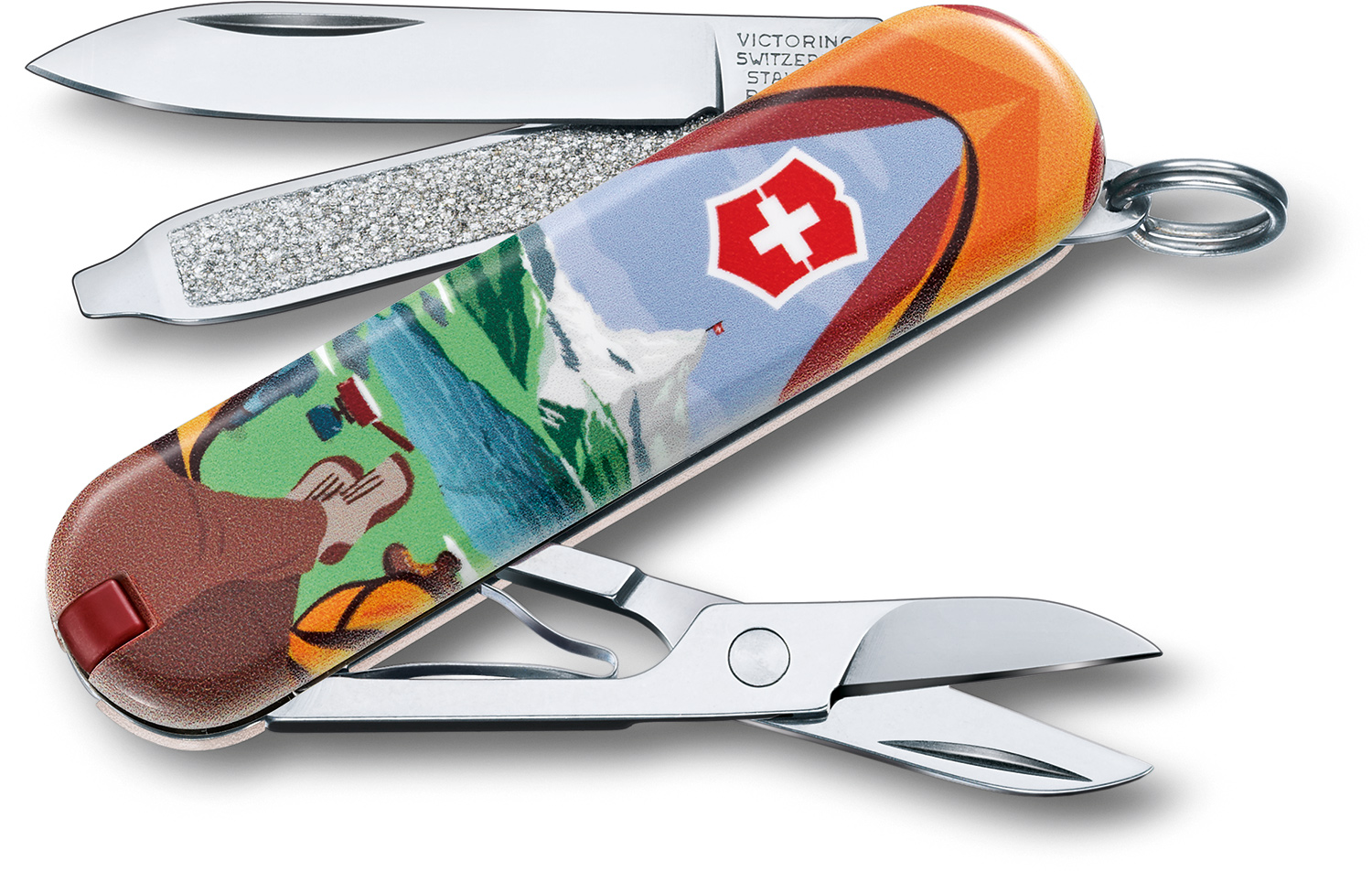 Victorinox Swiss Army Contest Classic SD Limited Edition 2018 Multi-Tool, Call of Nature, 2.25 inch Closed