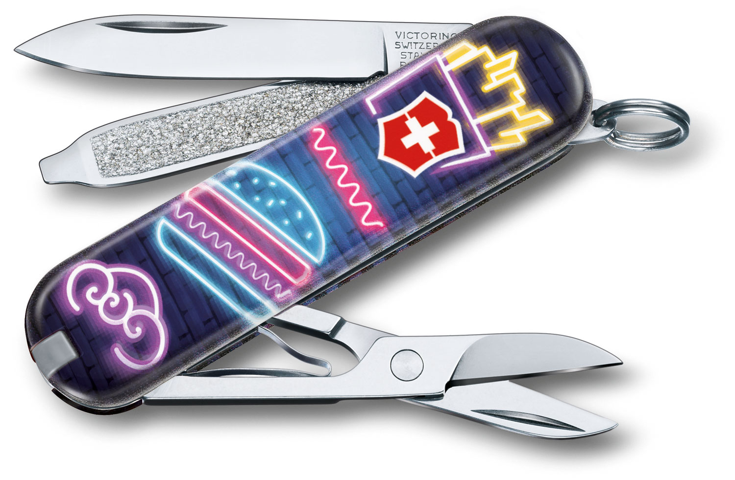 Victorinox Swiss Army Contest Classic SD Limited Edition 2019 Multi-Tool, Burger Bar, 2.25 inch Closed