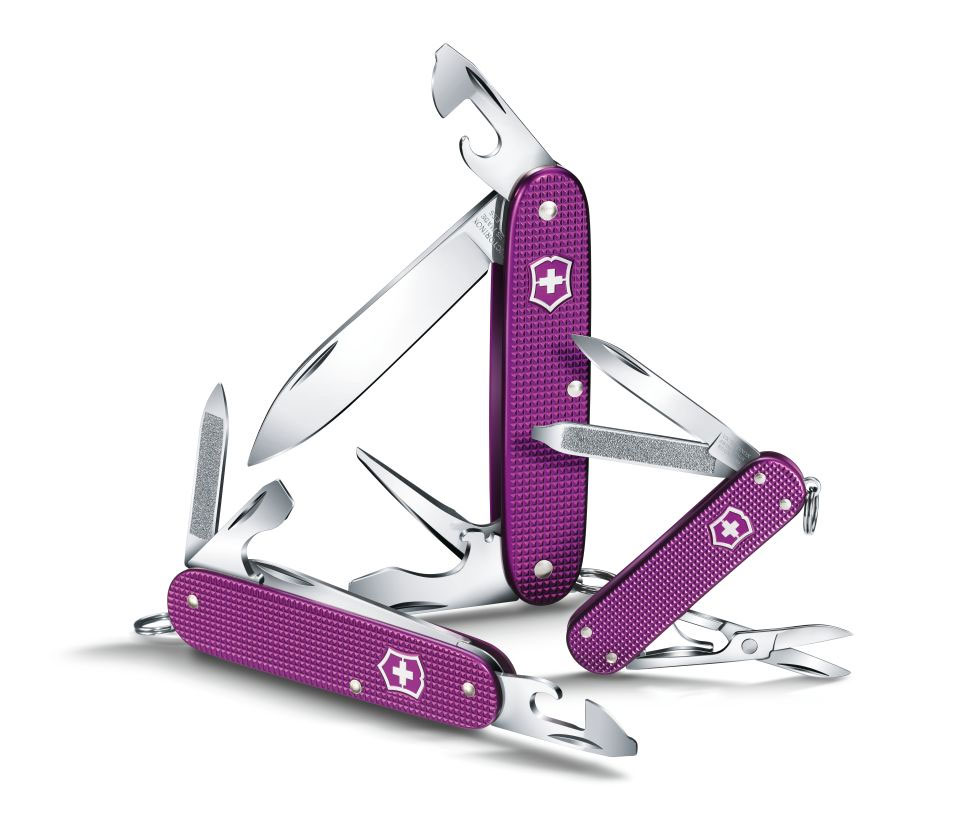 Victorinox Swiss Army Pioneer Alox Orchid Violet Limited